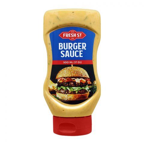 Fresh Street Burger Sauce Squeeze, 500ml