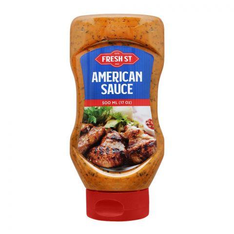 Fresh Street American Sauce Squeeze, 500ml