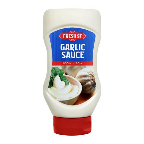 Fresh Street Garlic Sauce Squeeze, 500ml