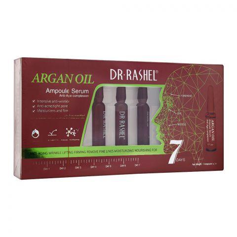 Dr. Rashel Argan Oil 7-Days Ampoule Serum, Anti-Age Complexion, 7x2ml