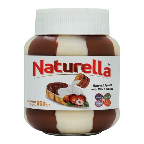 Naturella Hazelnut Spread With Milk & Cocoa, 350g