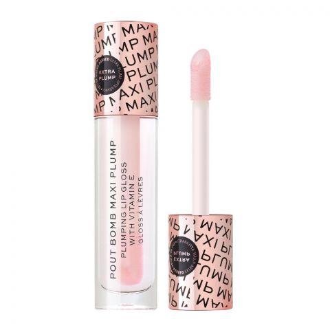 Makeup Revolution Pout Bomb Maxi Plump Lip Gloss, Divine