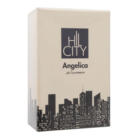 Hil City Angelica, Eau De Parfum, Fragrance For Women, 100ml