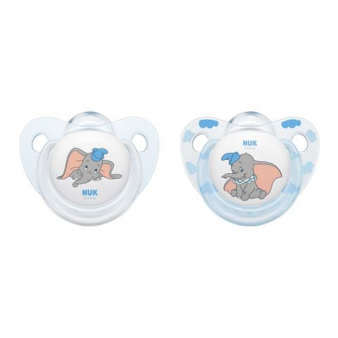 Nuk Disney Baby Silicone Soother, 0-6m, 10175245