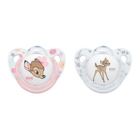 Nuk Disney Baby Silicone Soother, 6-18m, 10176248