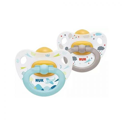 Nuk Happy Kids Latex Soother, 0-6m, 10725182