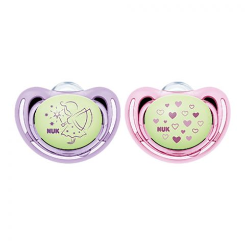 Nuk Freestyle Night Silicone Soother, 0-6m, 10730496