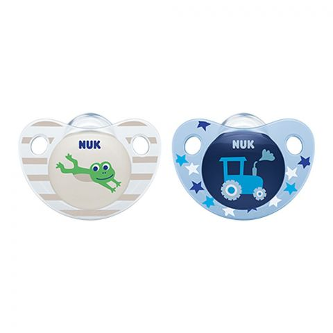 Nuk Trendline Silicone Soother, 6-18m, 10736138