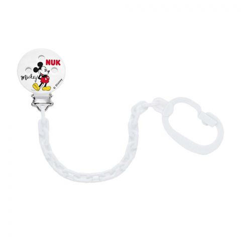 Nuk Disney Baby Mickey Mouse Soother Chain, 10750716