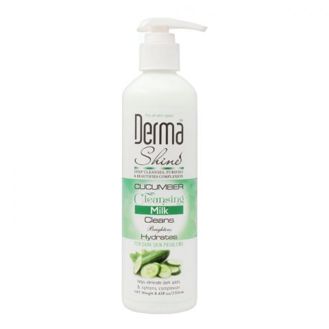 Derma Shine Cucumber Cleansing Milk, 250ml