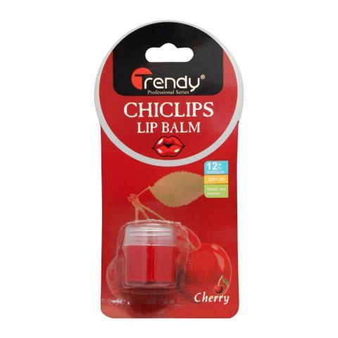 Trendy Cherry Lip Balm, SPF-20, TD-277