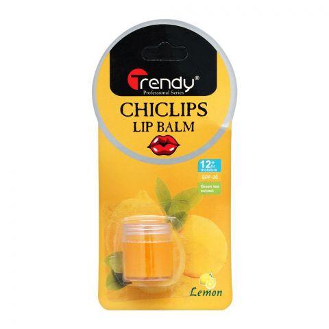 Trendy Lemon Lip Balm, SPF-20, TD-278