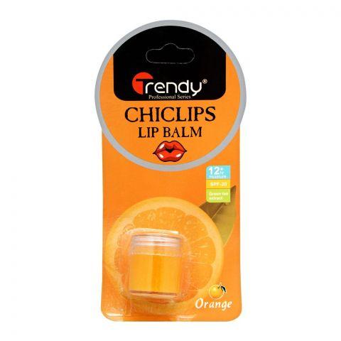 Trendy Orange Lip Balm, SPF-20, TD-281