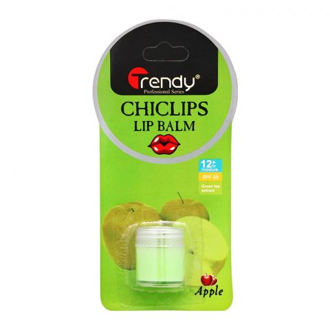 Trendy Apple Lip Balm, SPF-20, TD-282
