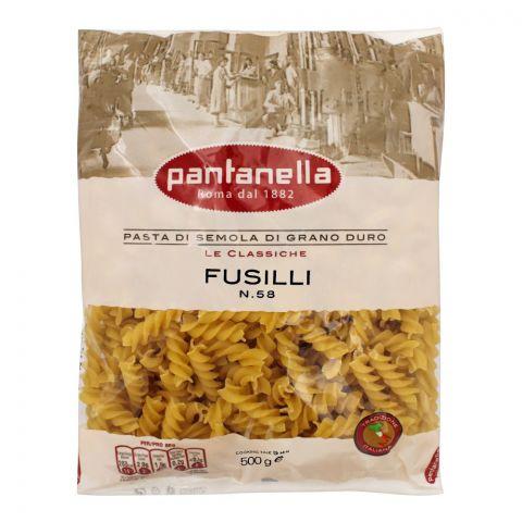 Pantanella Fusilli Pasta, No. 58, 500g