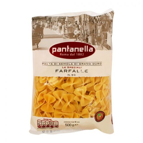 Pantanella Farfalle Pasta, No. 99, 500g