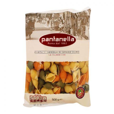 Pantanella Tricolor Conchiglie Pasta, 500g