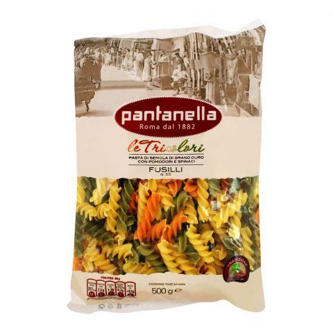 Pantanella Tricolor Fusilli Pasta, No. 58, 500g