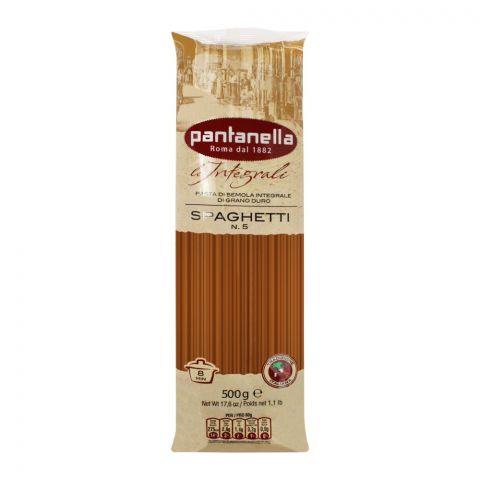 Pantanella Whole Wheat Spaghetti Pasta, No. 5, 500g