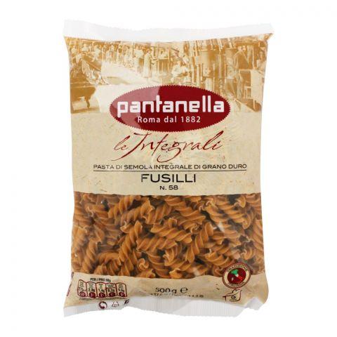 Pantanella Whole Wheat Pasta, Fusilli, No 58, 500g