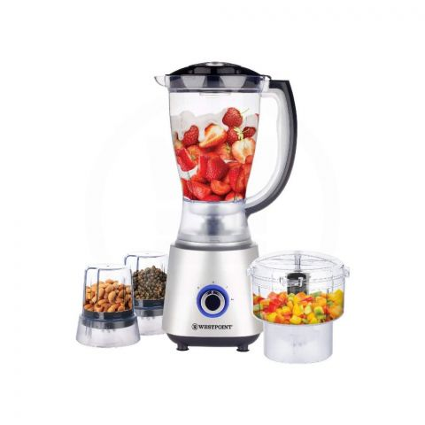West Point Deluxe Multi Function Blender, 450W, WF-445