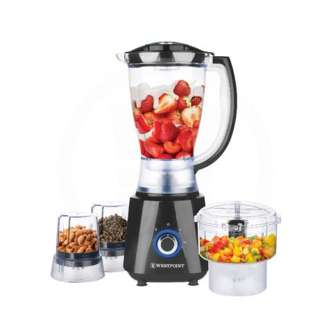 West Point Deluxe Multi Function Blender, 450W, WF-446