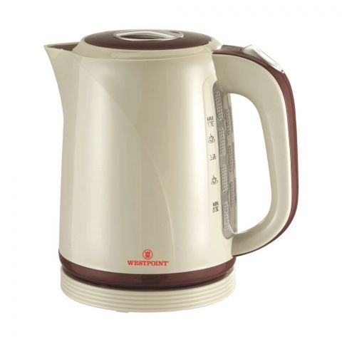 West Point Deluxe Cordless Kettle, 1.7L, 1850W, WF-989