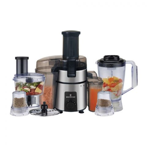 West Point Deluxe Kitchen Chef Food Processor, 600W, WF-1853