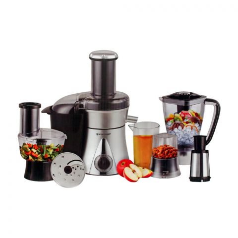 West Point 4-In-1 Deluxe Kitchen Chef Food Processor, 700W, WF-1858