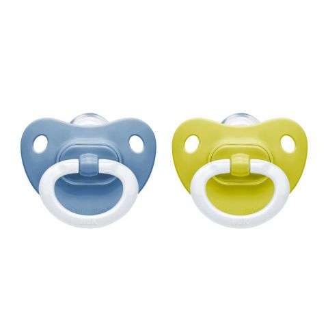 Nuk Fashion Silicone Soothers, 6-18m, 10736125