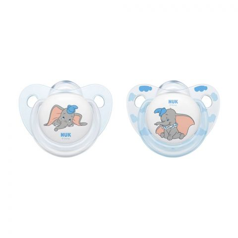 Nuk Disney Baby Silicone Soother, 6-18m, 10176249