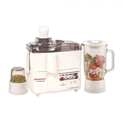 West Point Deluxe Juicer Blender Drymill, 500W, WF-1187