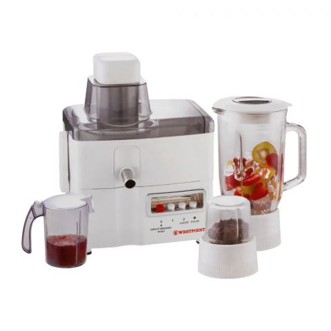 West Point Deluxe Juicer Blender Drymill, 750W, WF-1802