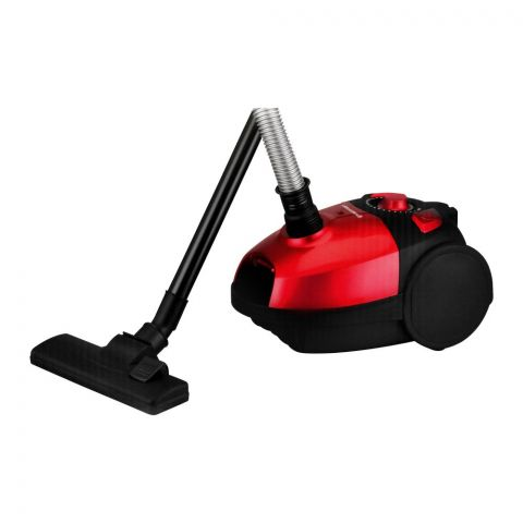 West Point Deluxe Vacuum Cleaner, Red, 1500W WF-3602