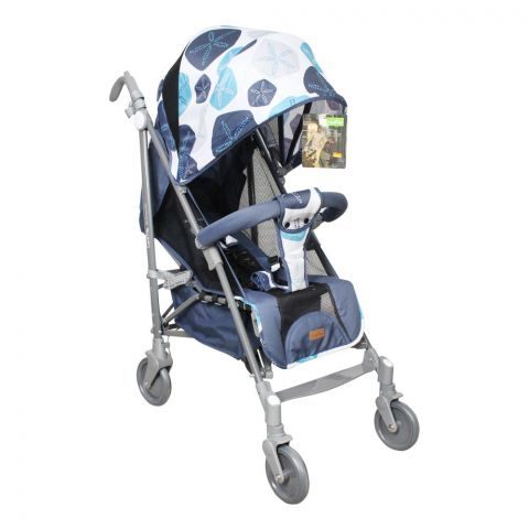 Care Me Baby Buggy Stroller, Blue, KMS-666