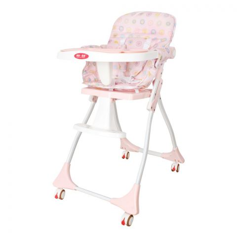 Baby High Chair, Pink, C-100
