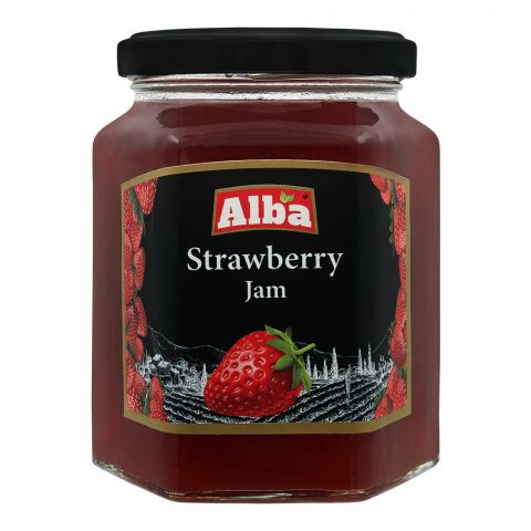 Alba Strawberry Jam, 320g