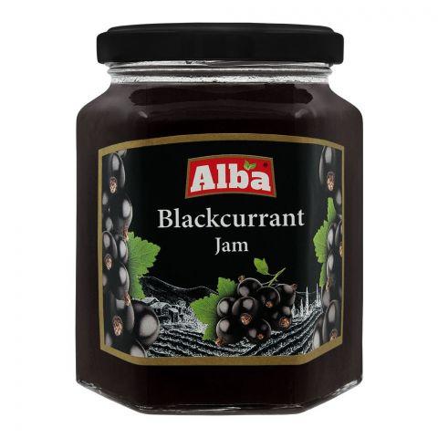 Alba Blackcurrant Jam, 320g