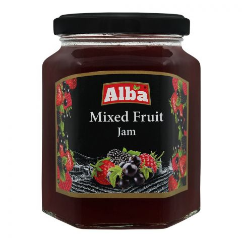 Alba Mixed Fruit Jam, 320g
