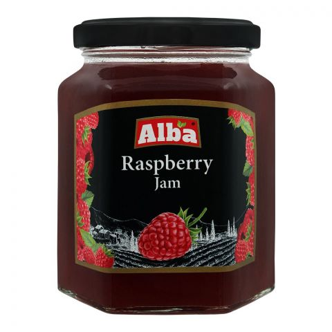 Alba Raspberry Jam, 320g