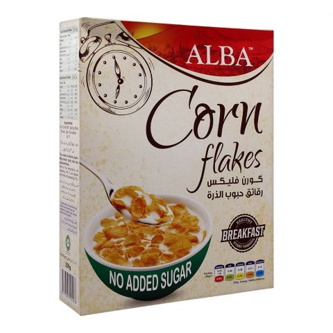 Alba Corn Flakes, No Added Sugar, 250g