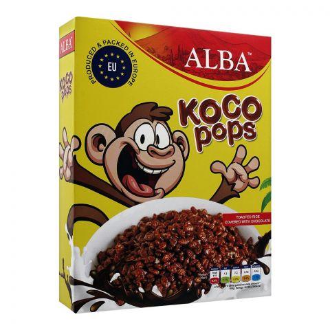 Alba Koco Pops Cereal, 250g