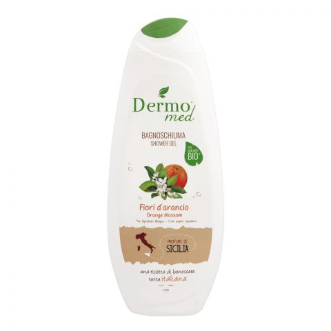 Dermomed Bio Orange Blossom Shower Gel, 500ml