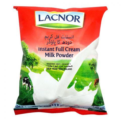 Lacnor Instant Full Cream Milk Powder, 400g