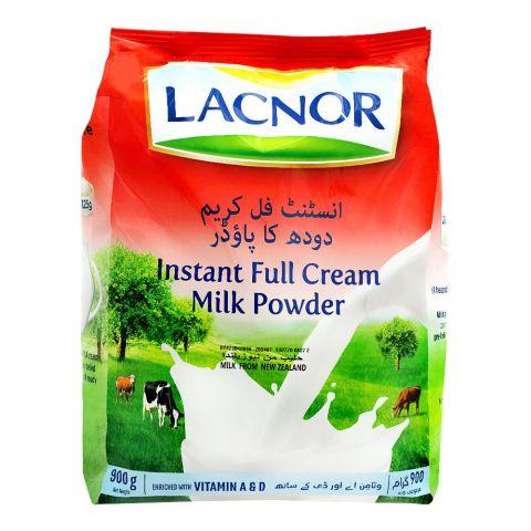 Lacnor Instant Full Cream Milk Powder, 900g