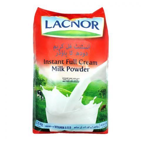 Lacnor Instant Full Cream Milk Powder, 2.25 KG