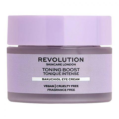 Makeup Revolution Toning Boost Bakuchiol Eye Cream, 15ml