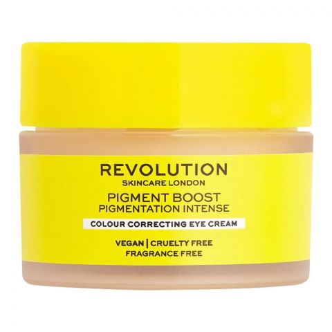 Makeup Revolution Pigment Boost Colour Correcting Eye Cream, 15ml