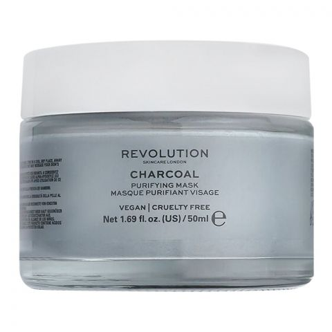 Makeup Revolution Charcoal Purifying Mask, 50ml