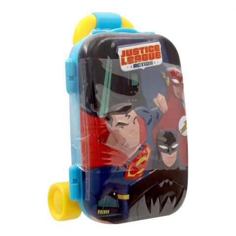 Justice League Luggage Tin With Jelly Candies, 76801
